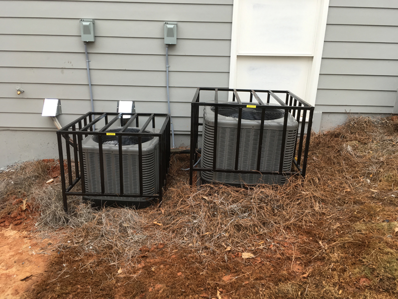 double series 3 ac cages