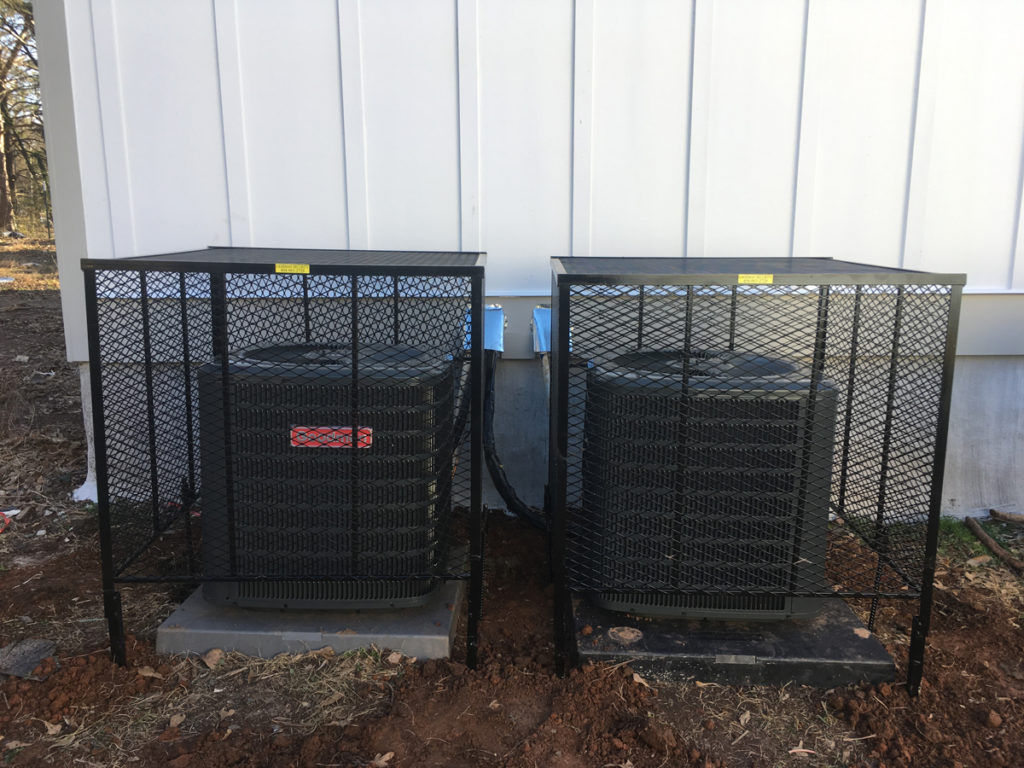 two ac cages
