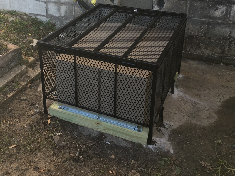 wider ac cage