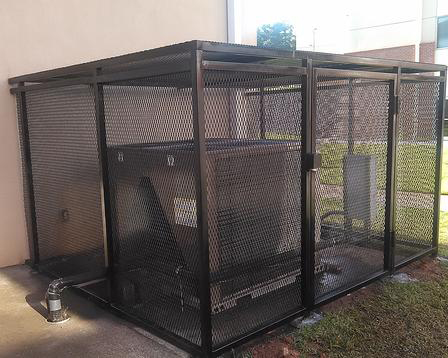 custom protective cage