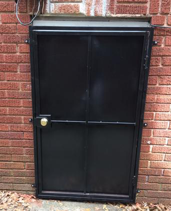 taller crawlspace door