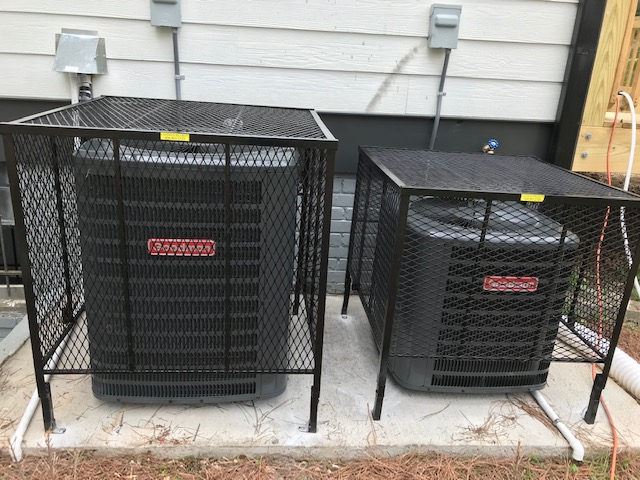 double ac cages